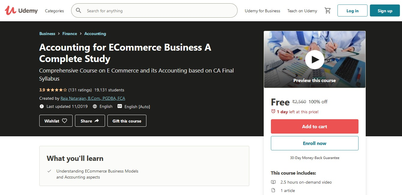 Accounting for ECommerce Business A Complete Study