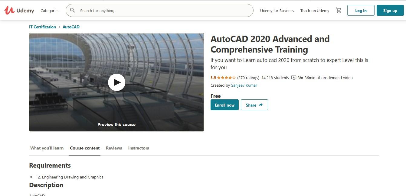 AutoCAD 2020 Advanced and Comprehensive Training