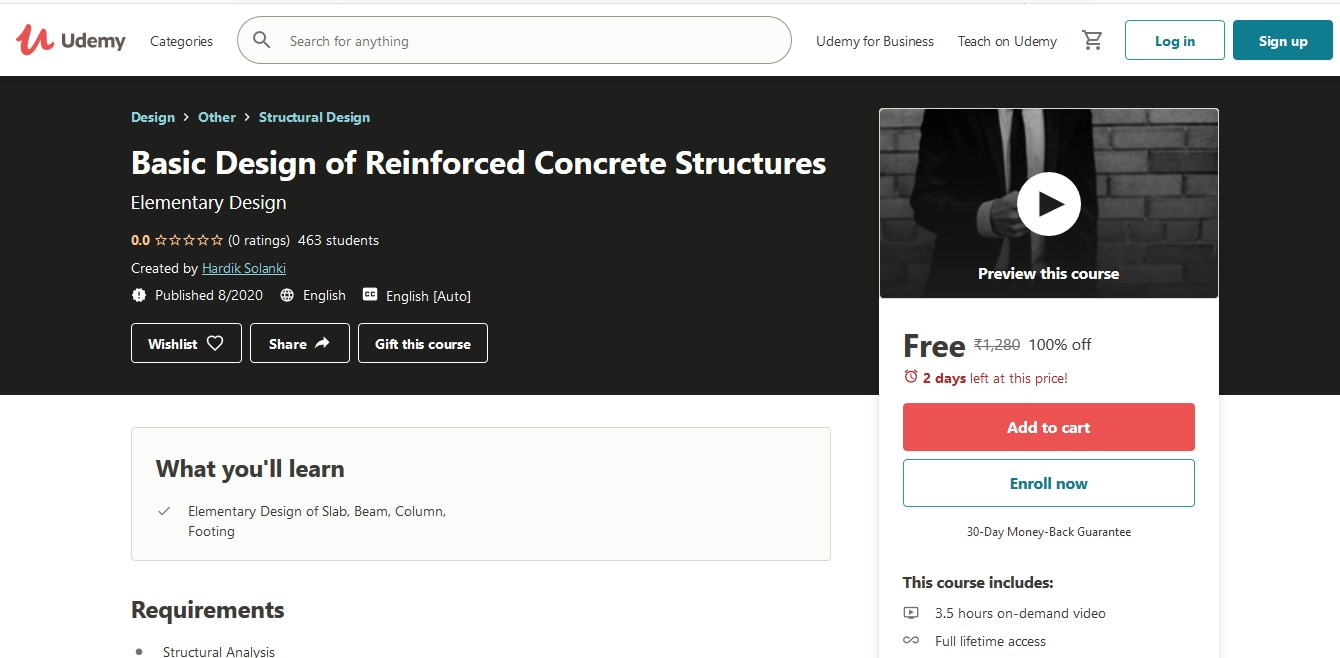 Basic Design of Reinforced Concrete Structures