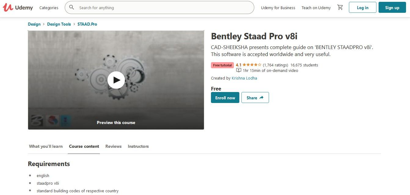 Bentley Staad Pro v8i