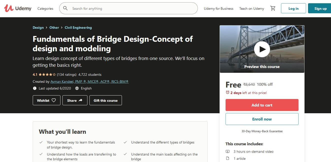 Fundamentals of Bridge Design-Concept of design and modeling