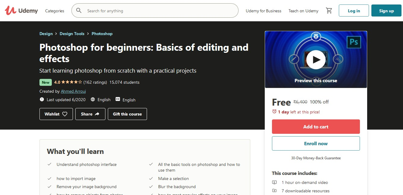 Photoshop for beginners Basics of editing and effects