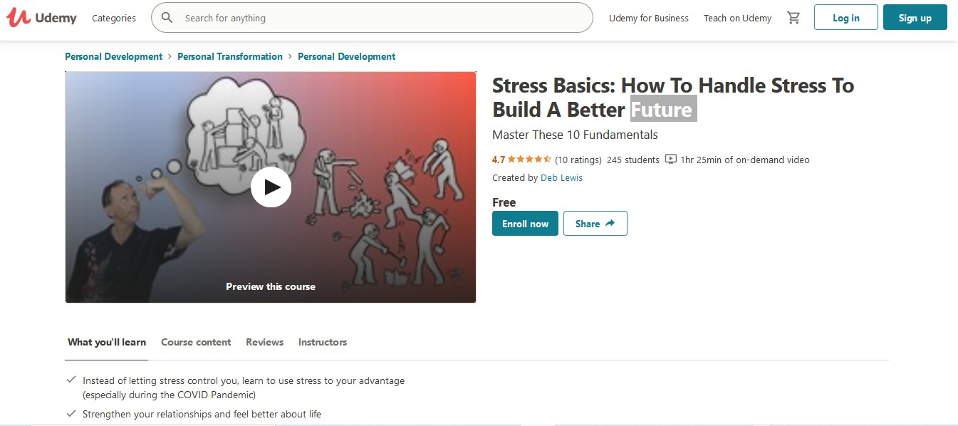 Stress Basics How To Handle Stress To Build A Better Future