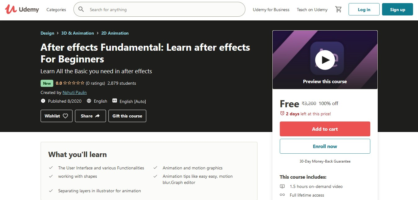After effects Fundamental Learn after effects For Beginners