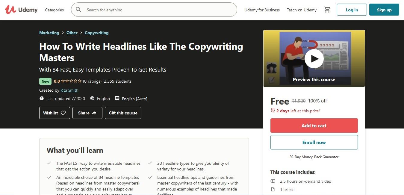 How To Write Headlines Like The Copywriting Masters