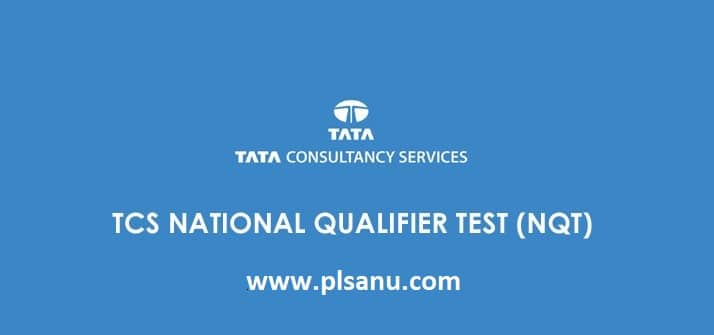 TCS NQT 2020 National Qualifier Test Selection Process