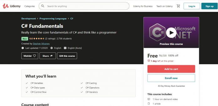 C# Fundamentals Course