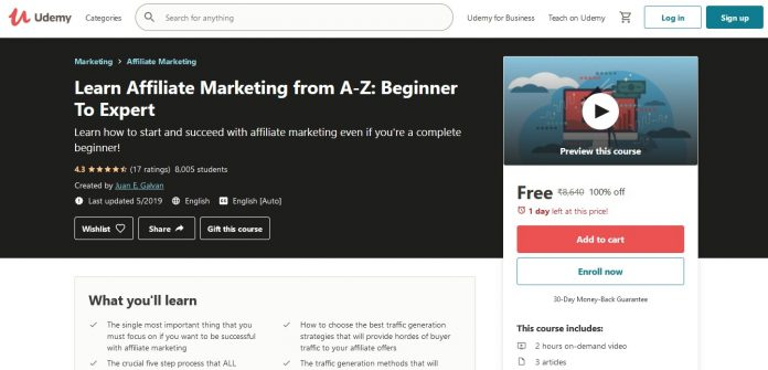 Learn Affiliate Marketing from A-Z Step-by-Step Blueprint